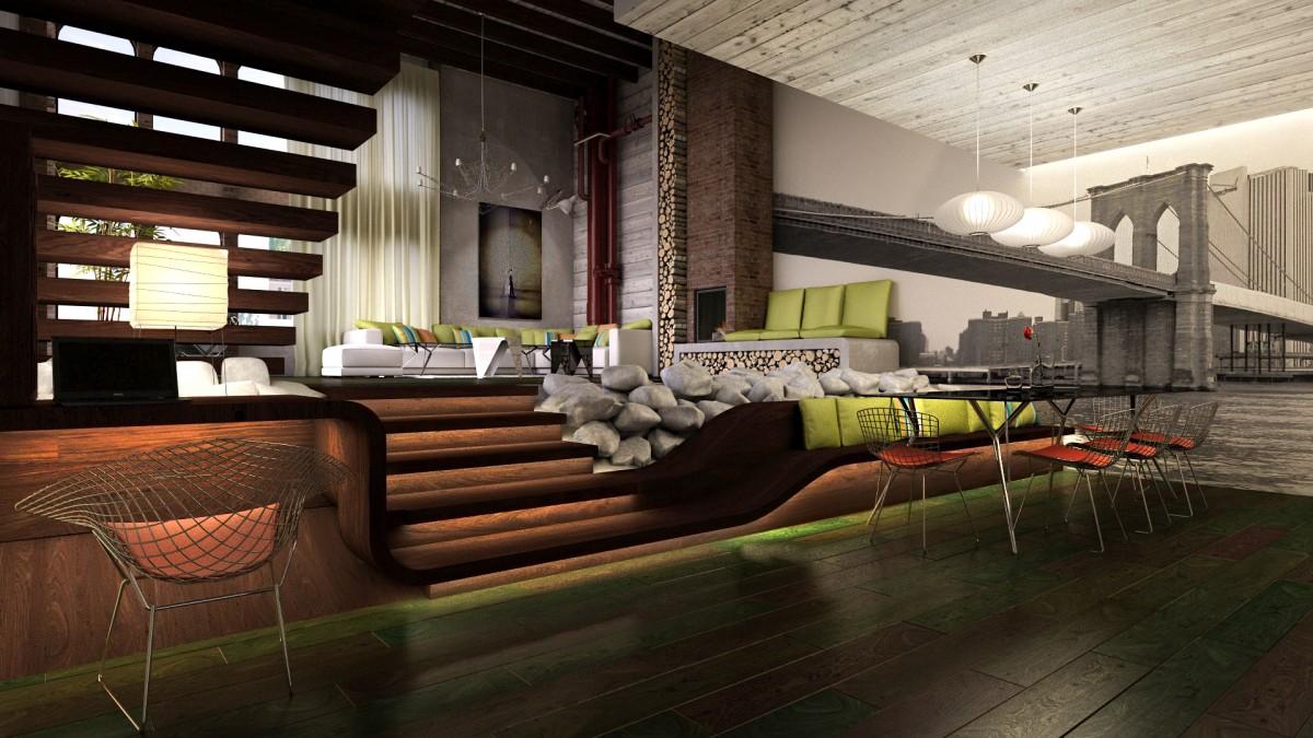 Loft interior design   Hotel meubilair   Horeca meubelen