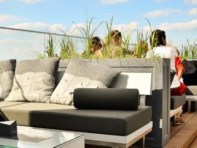 Franz sofa terrasmeubilair horeca meubelen op maat - Sofa vlechtwerk ...