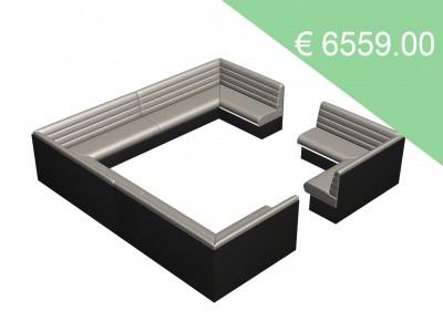 Victor Quadrat Bench H92