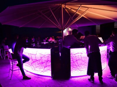 15- Outdoor bar