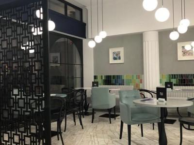 Prisi Cafe, design Gamma Advertising- Piatra Neamt, ROEMENIË
